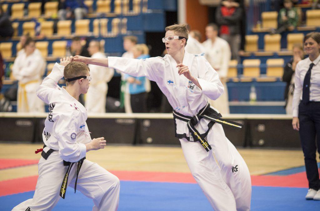 ITF Taekwon-Do lapsille